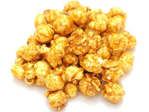 Soft, Sticky Caramel Corn