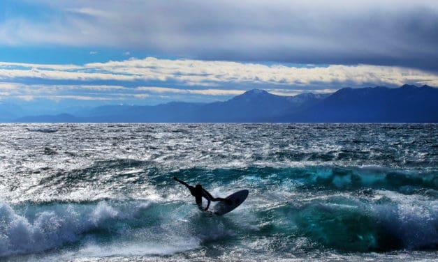 Chasing Waves At Lake Tahoe