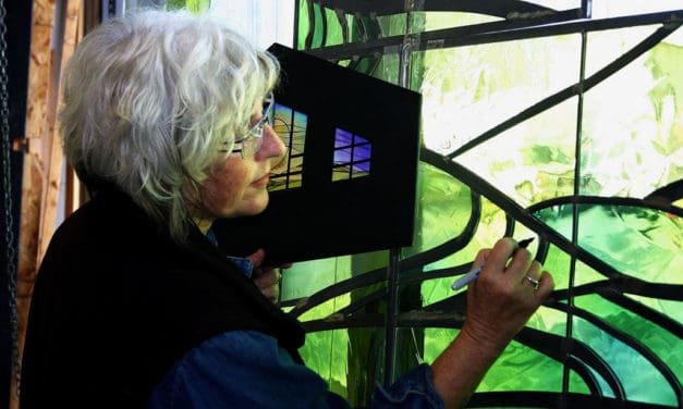 Meet The Artist Elizabeth Devereaux Stained Glass Master