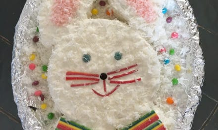 Easter Bunny With A Bow Tie – Cake Recipe