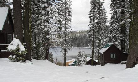 Snowmobile In! Bucks Lake Resort  – When The Road Closes