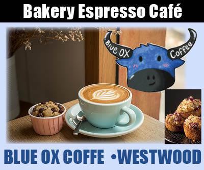 Blue Ox Coffee & Eatery – Westwood 530-816-0956 bakery, espresso, breakfast lunch cafe wifi